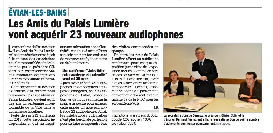 Article 23 mars DL AG du 21032018