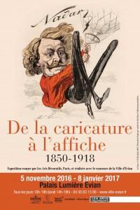 De la caricature à l'affiche 1850-1918