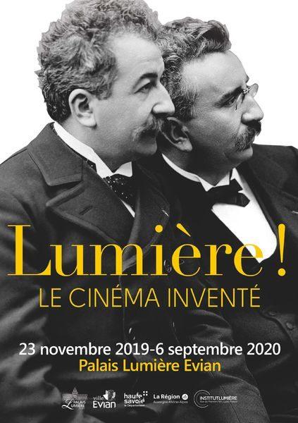 Affiche Expo Lumière
