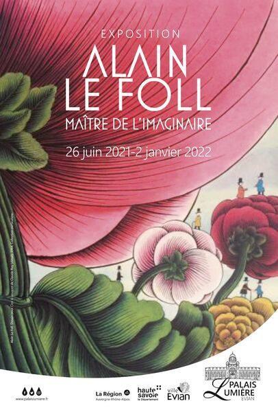 Affiche Expo Alain Le Foll